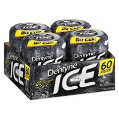 Sugarless Gum, Arctic Chill, 60 Pieces/Cup