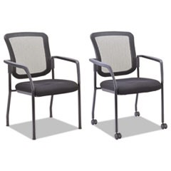 Mesh Guest Stacking Chair, Black