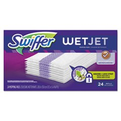 "WetJet System Refill Cloths, 11.3"" x 5.4"", White, 24/Box, 4/Ctn"