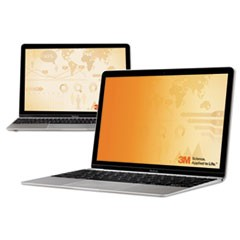 "Frameless Gold Notebook Privacy Filter for 12.1"" Widescreen Monitor, 16:10"