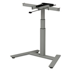 3-Stage Single-Column Electric Adjustable Table Base, 24 3/4