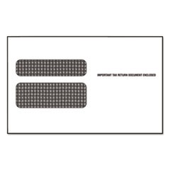 Double Window Envelope for Continuous W 2 Tax Forms, 9 1/2 x 5 5/8