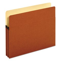 "Bulk File Pockets, Straight Cut, 1 Pocket, Legal, 1 3/4"" Exp, Brown, 50/Carton"