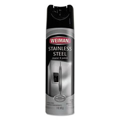 Stainless Steel Cleaner and Polish, 17 oz Aerosol