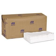 Advanced Soft Minifold Dispenser Napkins, 1-Ply,13x12,Bag-Pack, White, 6000/Ct