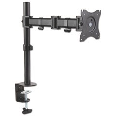 Monitor Arm, Single Monitor, Articulating, 17 x 3 x 17 1/2, Black