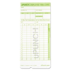 Time Card for uPunch HN1000, HN3000, HN3600 Bundle, 100/Pk