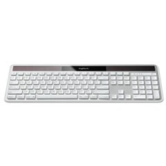 Wireless Solar Keyboard for Mac, Full Size, Silver