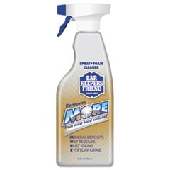 MORE Spray + Foam Cleaner, 25.4 oz Spray Bottle, Citrus, 6/Carton