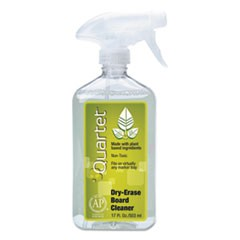 Quartet Whiteboard Spray Cleaner For Dry Erase Boards, 17 Oz Spray Bottle
