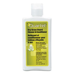 Quartet Whiteboard Conditioner/Cleaner For Dry Erase Boards, 8 Oz Bottle