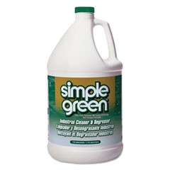 Industrial Cleaner & Degreaser, Concentrated, 1 gal Bottle, 6/Carton
