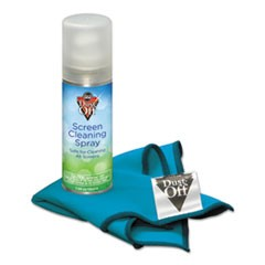 Laptop Computer Cleaning Kit, 50mL Spray/Microfiber Cloth