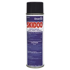 Skidoo Institutional Flying Insect Killer, 15 oz Aerosol, 6/Carton