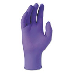 PURPLE NITRILE Gloves, Purple, 242 mm Length, X-Small, 6 mil, 1000/Carton