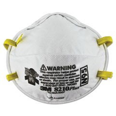 Particulate Respirator 8210Plus, N95, 20/Box