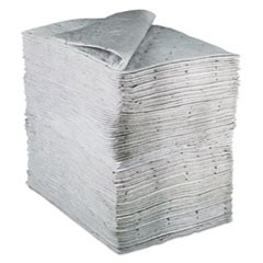 Sorbent Pads, High-Capacity, Maintenance, 37.5gal Capacity, 100/Carton