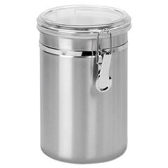 Stainless Steel Canisters, 63 oz