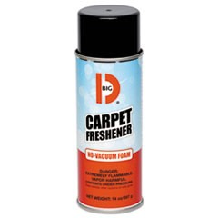 No-Vacuum Carpet Freshener, Fresh Scent, 14 oz Aerosol, 12/Carton