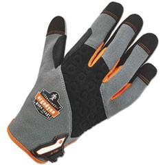 ProFlex 710 Heavy-Duty Utility Gloves, Gray, Large, 1 Pair