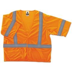 GloWear 8310HL Type R Class 3 Economy Mesh Vest, Orange, L/XL