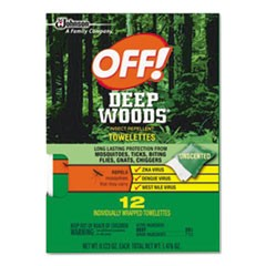 Deep Woods Towelettes, 12/Box, 12 Boxes per Carton