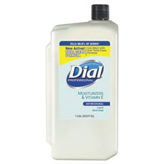 Antimicrobial Soap with Moisturizers, 1-Liter Refill