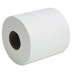 Two-Ply Toilet Tissue, White, 4 1/4 x 3 1/2, 500/Roll, 96/Carton
