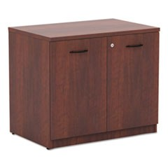 Valencia Series Storage Cabinet, 34w x 22 3/4d x 29 1/2h, Medium Cherry