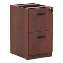 Alera Valencia File/File Drawer Full Pedestal, 15.63w x 20.5d x 28.5h, Medium Cherry