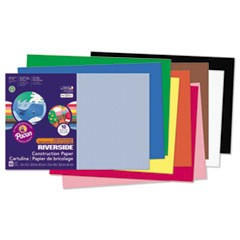 Riverside Construction Paper, 76lb, 12 x 18, Assorted, 50/Pack