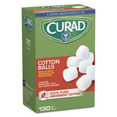 "Sterile Cotton Balls, 1"", 130/Box"