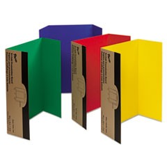 Spotlight Corrugated Presentation Display Boards, 48 x 36, Assorted, 4/Carton