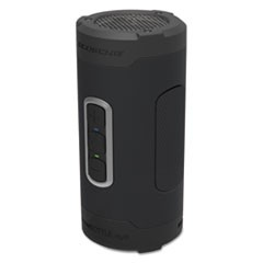 boomBOTTLE H2O+ Rugged Waterproof Wireless Speaker, Black/Gray