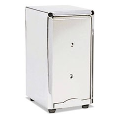 Stainless Steel Napkin Dispenser, 4 1/2 x 4 x 7