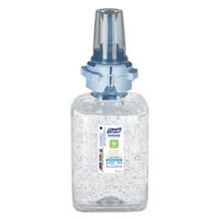Advanced Hand Sanitizer Green Certified Gel Refill, 700 ml, Fragrance Free, 4/Carton