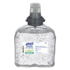 Advanced Hand Sanitizer Green Certified TFX Gel Refill, 1200 ml, 4/Carton