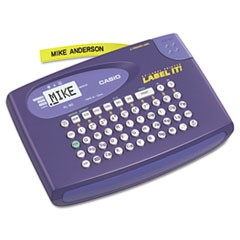 KL-60L Label Maker, 2 Lines, 6-5/8w x 4-1/2d x 1-1/16h