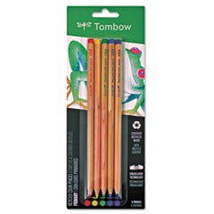Recycled Colored Pencils, Natural Wood, Recycled Cedar, Artist Quality, 5/ST