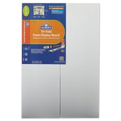 CFC-Free Polystyrene Foam Premium Display Board, 24 x 36, White, 12/Carton