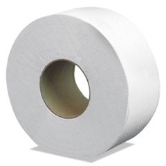 "Select Jumbo Bath Tissue, 2-Ply, 3.3"" x 500 ft, White, 12 Rolls/Carton"