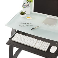 Xpressions Keyboard Tray, Steel, 23-1/2w x 15-1/4d, Black