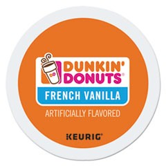 K-Cup Pods, French Vanilla, 24/Box