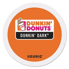 K-Cup Pods, Dark Roast, 24/Box
