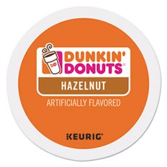 K-Cup Pods, Hazelnut, 24/Box
