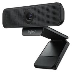 C925e Webcam, 1920 pixels x 1080 pixels, 2 Mpixels, Black