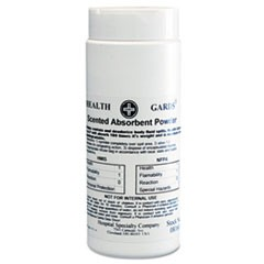Absorbent Powder, Scented, 16 oz Canister, 12/Carton