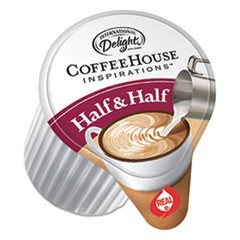 Coffee House Inspirations Half & Half,  0.38 oz, 180/Carton