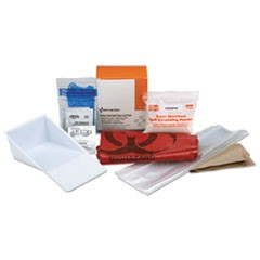 First Aid Only Bbp Spill Cleanup Kit, 3.625  X 4.312  X 2.25