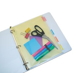 POCKET,BINDER,8.5X11,CLR
